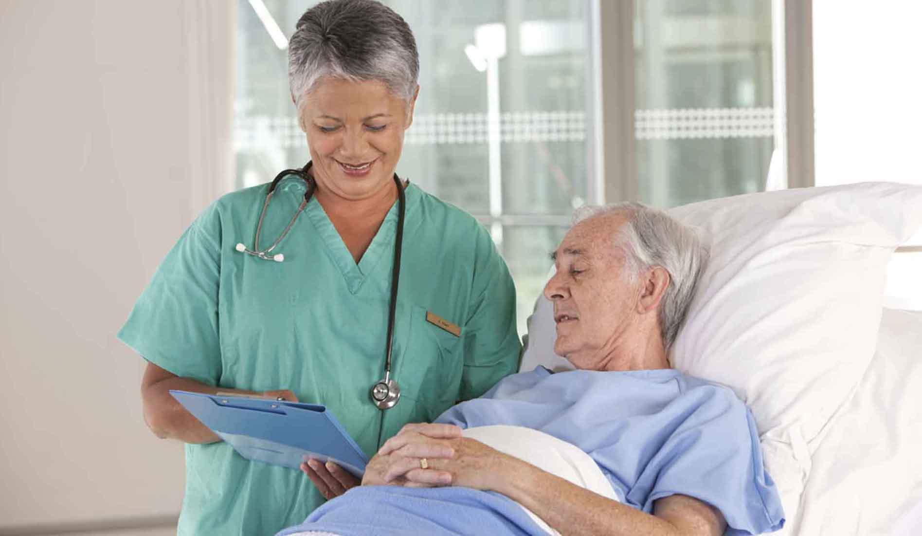 Yaşlı Hasta Bakıcı